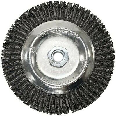 """6"""" x 5/8-11"""" Stringer Bead Wire Wheel For Angle Grinder (Carbon Steel)"""