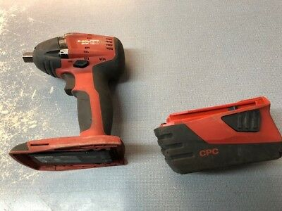 Hilti SIW 18-A Cordless Impact Wrench & 21.6V Li-Ion Battery(NO CHARGER)
