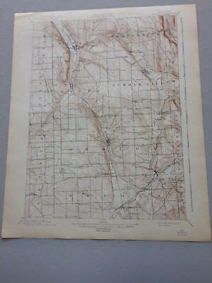 USGS Antique Topographic Map,MORAVIA, NY, 1896, Ed. of 1902, Reprint 1942