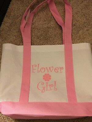 Flower Girl Gifts Set Tote Bag Wedding Day Activity kits
