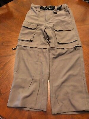 Boy Scouts of America Switchback Pant in size Youth Medium-Green EUC (G1)