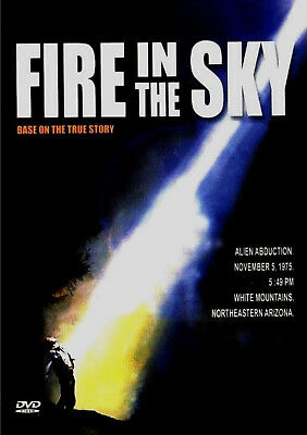 Fire in the Sky - DVD - James Garner / D.B. Sweeney / Robert Patrick (MOD DVD-R)