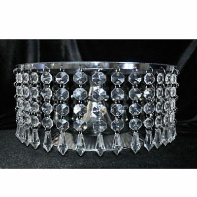 50pcs Acrylic Crystal Garland Hanging for Wedding Party Decoration No Cake Stand