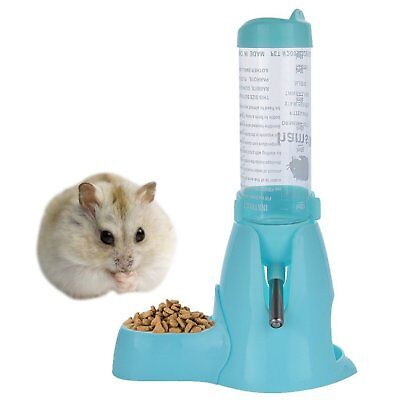 Hamster Water Bottle Guinea Pig Bottle Automatic Feeder Water and Food Dispenser
