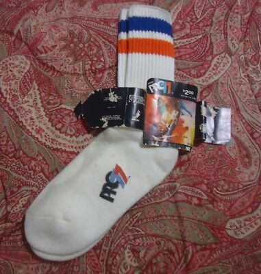 PRO 77 ATHLETIC SOCKS RARE endorsed by the NBA players during 1974 Season