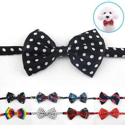 Small Dog Grooming Bow Tie Necktie Collar Puppy Accessories Cat Puppy Bowtie