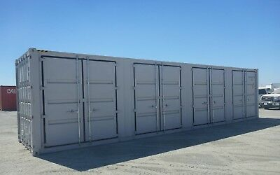 One Trip Four Sided 40 Ft High Cube Multi Door Sea Container