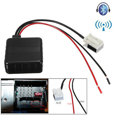 Bluetooth Radio Stereo AUX In Adapter Receiver + Filter For BMW E60 E61 E62 MINI