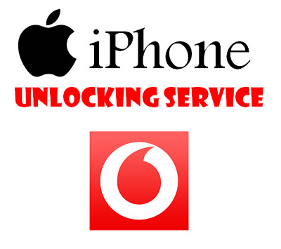 Unlocking Service For Apple iPhone 4 4S 5 5S 5C SE 6 6+ 6S 6S+ 7 7+ Vodafone UK