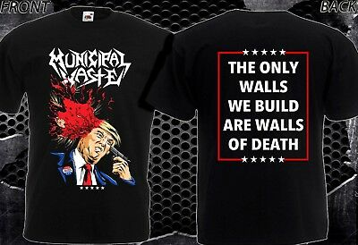 Municipal Waste  DUMP Trump -NEW T-SHIRT MEN'S-DTG PRINTED TEE SIZE-S/ 7XL
