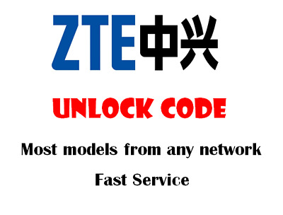 Unlock Code Sim Network Unlock Pin For ZTE EE Rook Fast Unlocking Service