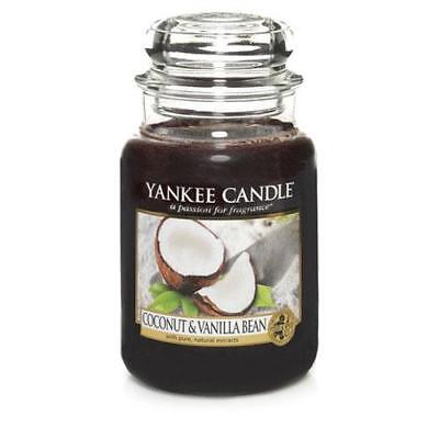 Yankee Candle Coconut and Vanilla Bean Large Jar Scented Candle