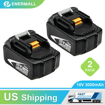 2-Replace for Makita 18V Lxt Lithium Battery 3.0Ah BL1830 BL1850 BL1860 BL1840