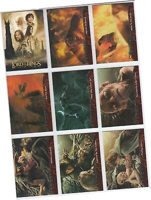 Lord Of The Rings: The Two Towers Update Edition - 72 Card Basic/Base Set - 2003