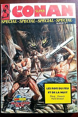 Super Conan Special Album N°1 - Mon Journal Publication Marvel with No.1-2-3