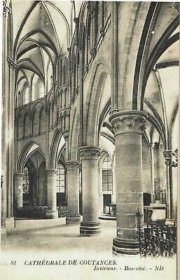 CPA-Carte postale-France-COUTANCES - Sa Cathédrale ( iv 585)