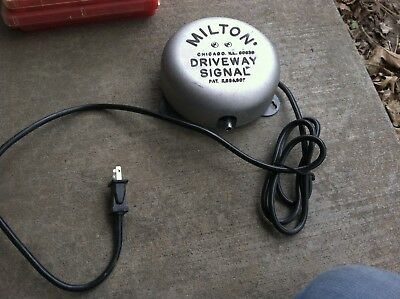 Vintage Tested Milton 805 Driveway Service Gas Station Signal Bell