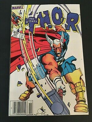 Thor #337 Marvel 1983 Walt Simonson 1St Beta Ray Bill 9.2 Nm- White Pages