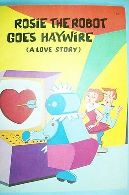"""Vintage 1987 The Jetsons Book - """"Rosie the Robot Goes Haywire (A Love Story)"""""""