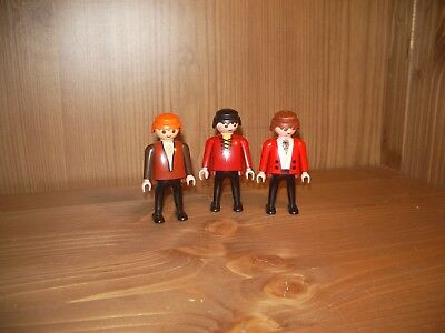 Playmobil Piratenschiff, 3 Räuber, Piraten Figuren ( 02976)