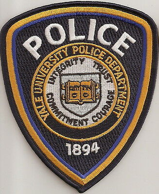 Yale University Police  Patch Connecticut CT NEW !!!