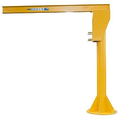 NEW! HD Floor Mounted Jib Crane, 4000 Lb. Cap-14' Under Beam Height-16' Span!!