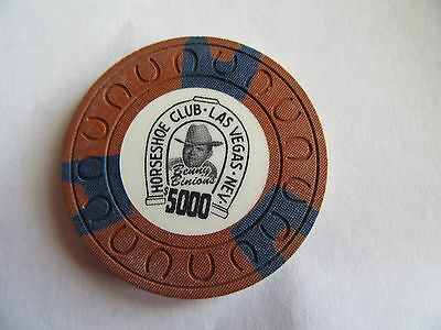 Casino chip $5000 horseshoe mold Las Vegas,NV
