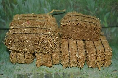 """Breyer Traditional or Classic 3"""" Realistic Hay Bales Lot of 7"""