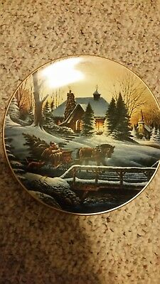 Terry Redlin Collector Plate - Heading Home