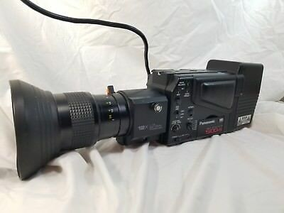 Vintage Panasonic WV-D5100HS High Sensitivity Video Camera WV-LZ14/8AF WV-PS03