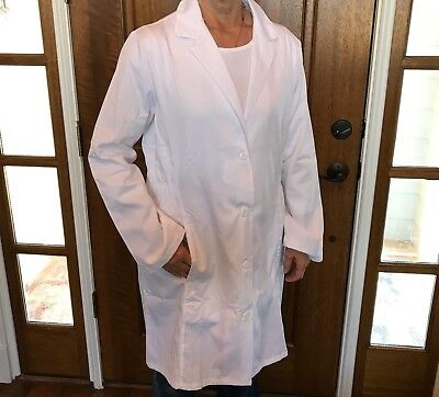 Women's White Fashion Seal 1st Quality Lab Coats for 13.75 Sizes: M -3XL