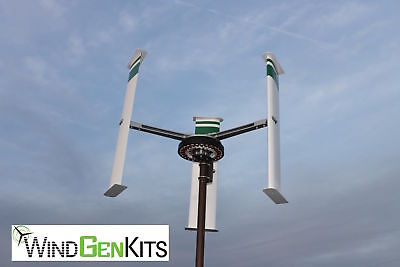 Fits 1.5 Inch Tower Pole Vertical Axis Mounting Bracket for VAWT Wind Turbines
