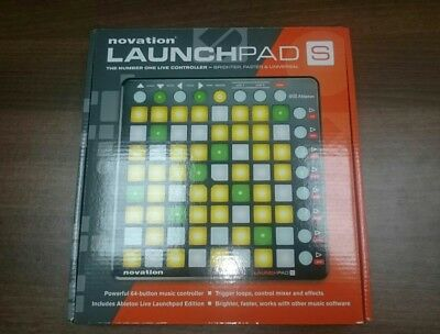Novation Launchpad S 64 Button MIDI Controller - ***SOFTWARE NOT INCLUDED***
