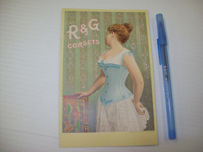 R & G Corsets Trade Card - MINT!