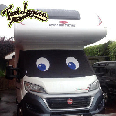 Screen Cover Blackout Blind Wrap  Ducato Besscarr Boxer Motorhome Eyes