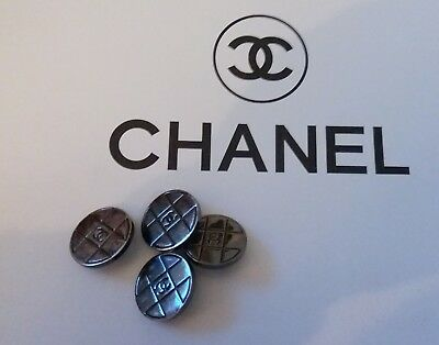 Chanel Buttons Set Of 4 20 mm vintage