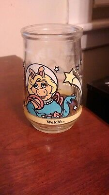 Welch's Collectible #2 Miss Piggy Muppets in Space Jelly Jar