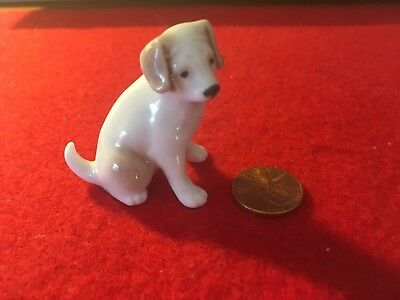 porcelain Puppy Made In Japan