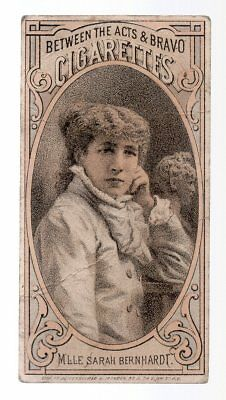 Vintage Victorian Trade Card, Between And Acts Cigarettes,