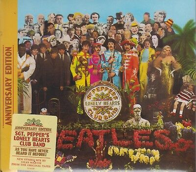 NEW - The Beatles Sgt. Pepper's Lonely Hearts Club Band 50th Anniversary Edition