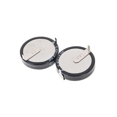 2pcs 5.5V/4.0F Super Capacitor Double layer H Types Buttons Smart Capacitance ZY