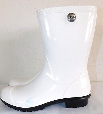 194f2d531d6 UGG RED RAIN boots size 9 logo style - $40.00 | PicClick