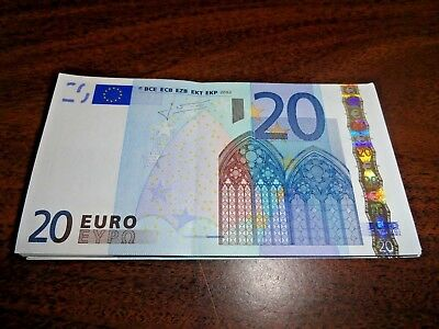 20 EURO BILL LEFT OVER FROM RECENT TRIP, have it with you when you arrive
