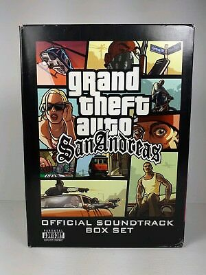 Rockstar Games San Andeas soundtrack box set