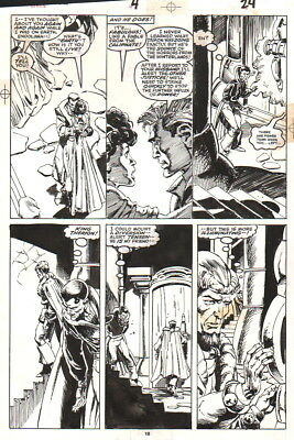Justice, Endolana Vintage 1987 Original Art-Joe Staton/ Geof Isherwood!