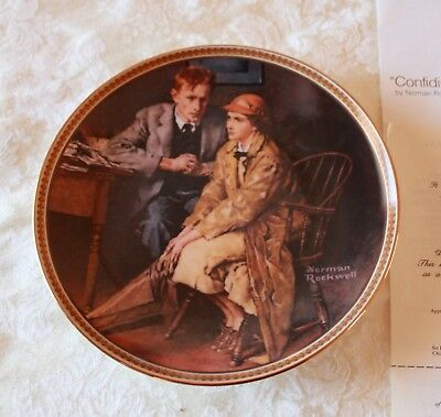 Rediscovered Women by Norman Rockwell - Complete Set Of 12 Plates - Knowles
