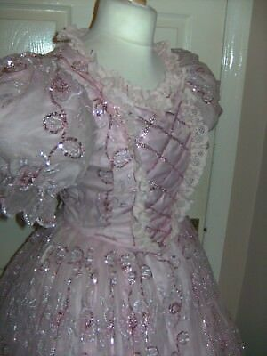 Pantomime Fairy Godmother / Cinderella Costume By Homburgs Theatre Dress Stage