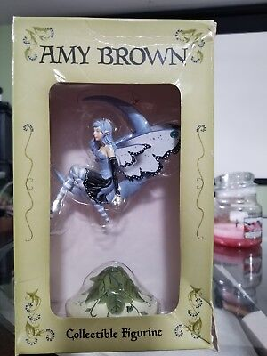 Amy Brown collectible figurine Blue Moon Diva 2