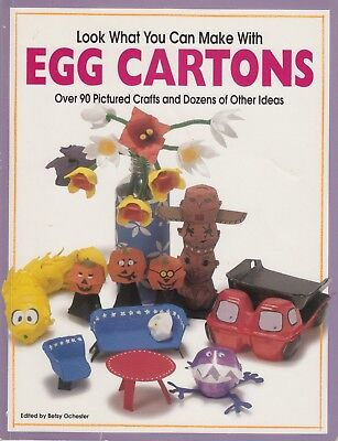 Look What You Can Make With Egg Cartons - 90 designs s/c book kid's crafts