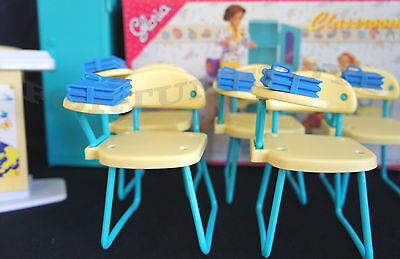 New Gloria Doll House Furniture Classroom (9816)